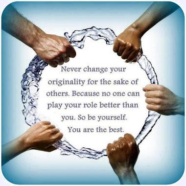 Change your originality..?