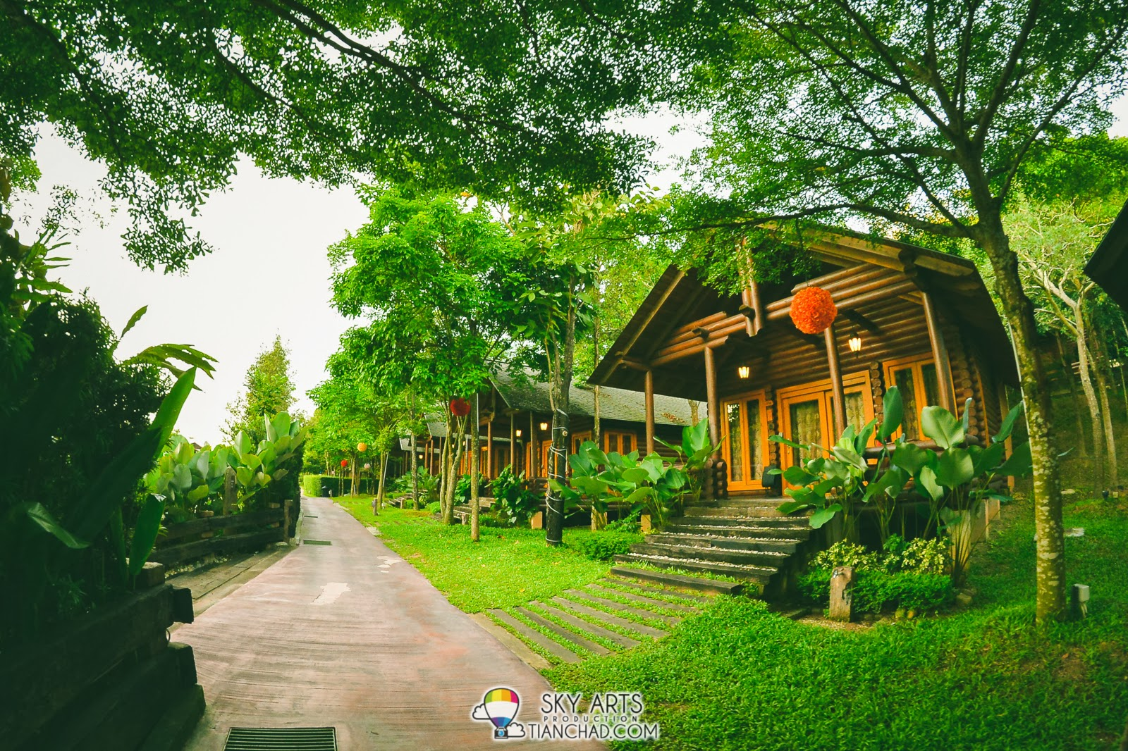 Philea Suite covered with greenery @ Philea Resort
