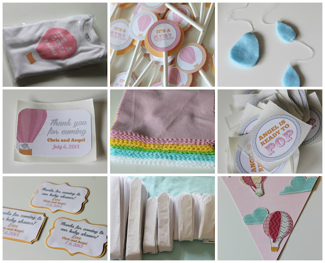 make it cozee up up and away baby shower party in a box