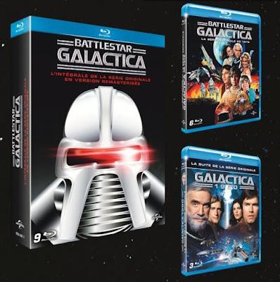 Battlestar Galactica - L'intégrale en Blu-ray