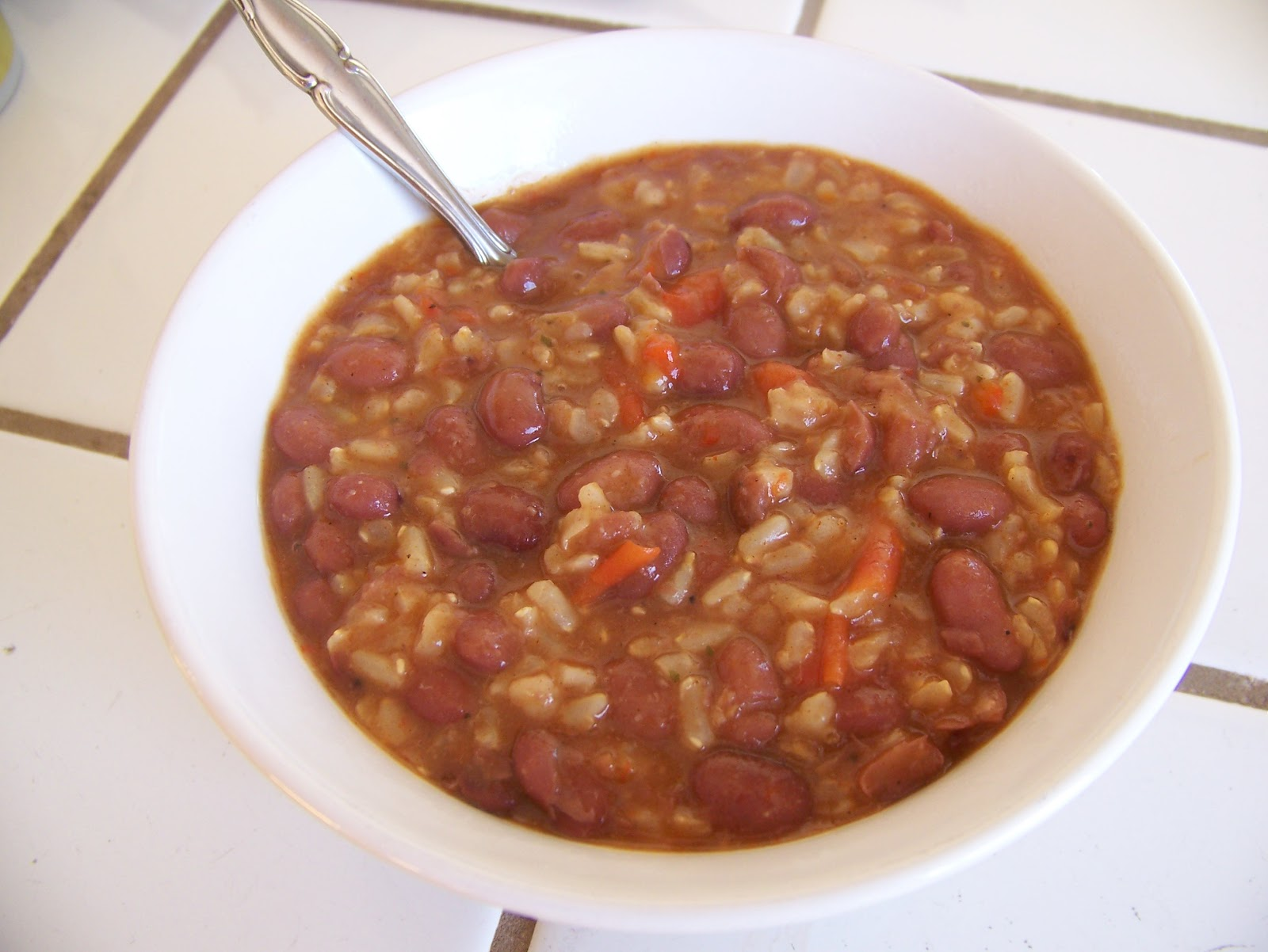 Near to Nothing: Simple Red Beans and Rice