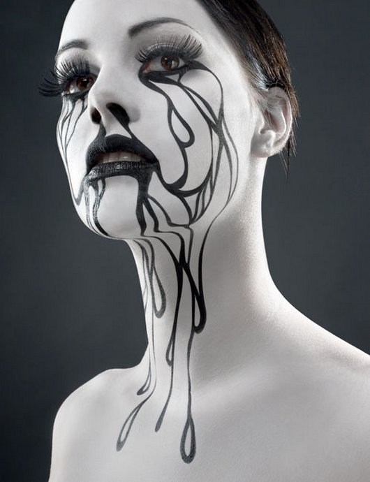 Photography inspiration | Halloween face paintings, Halloween face ...