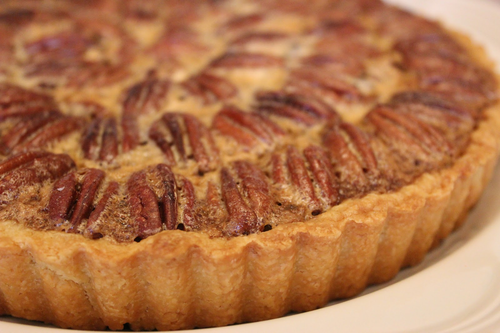 good gracious _____: chocolate pecan bourbon tart