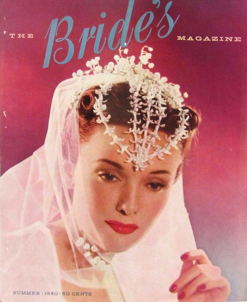 Vintage Bridal Inspiration A Collection Of 27 Beautiful Covers Of The Brides Magazine In The