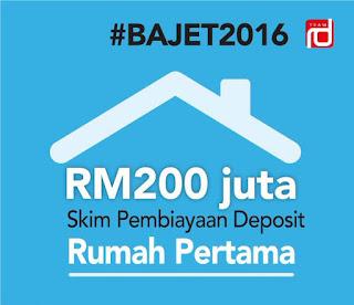 Permohonan Rumah Pertama Skim Pembiayaan Deposit 2016