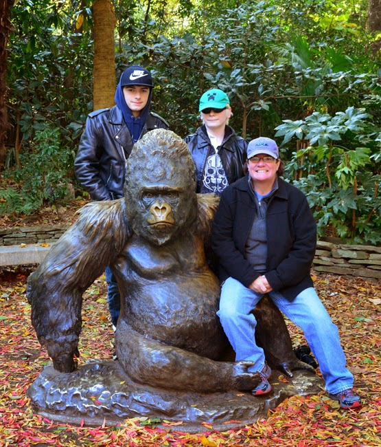 Zoo Atlanta, with MJ and The Guys