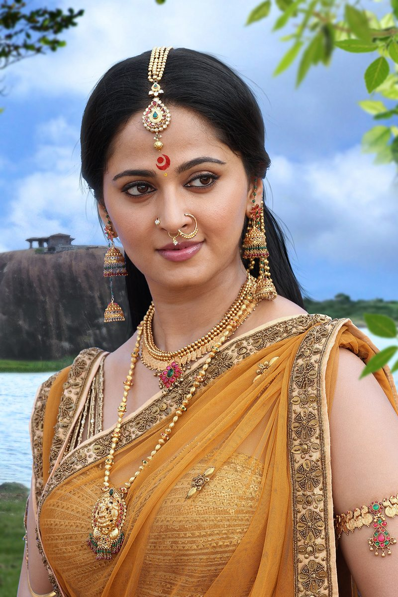 Anushka Rudramadevi June 2015 Costume Stills