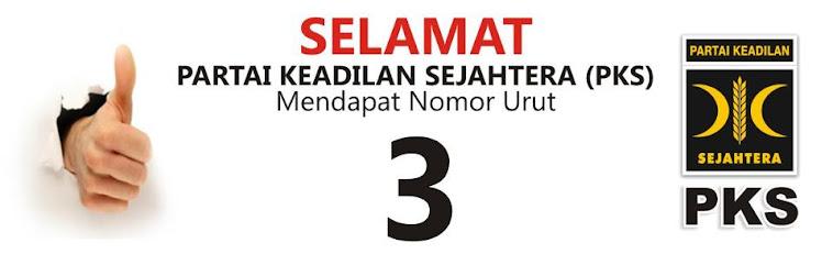 Nomor Urut PKS Pemilu 2014