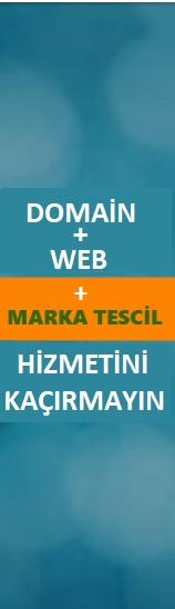 Marka Tescil, Domain ve Web Pakedini Kaçırmayın!