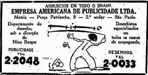 Empresa americana de publicidade em 1929