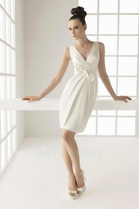 ... de mariage,robes de soirée et décoration: La robe de mariée courte