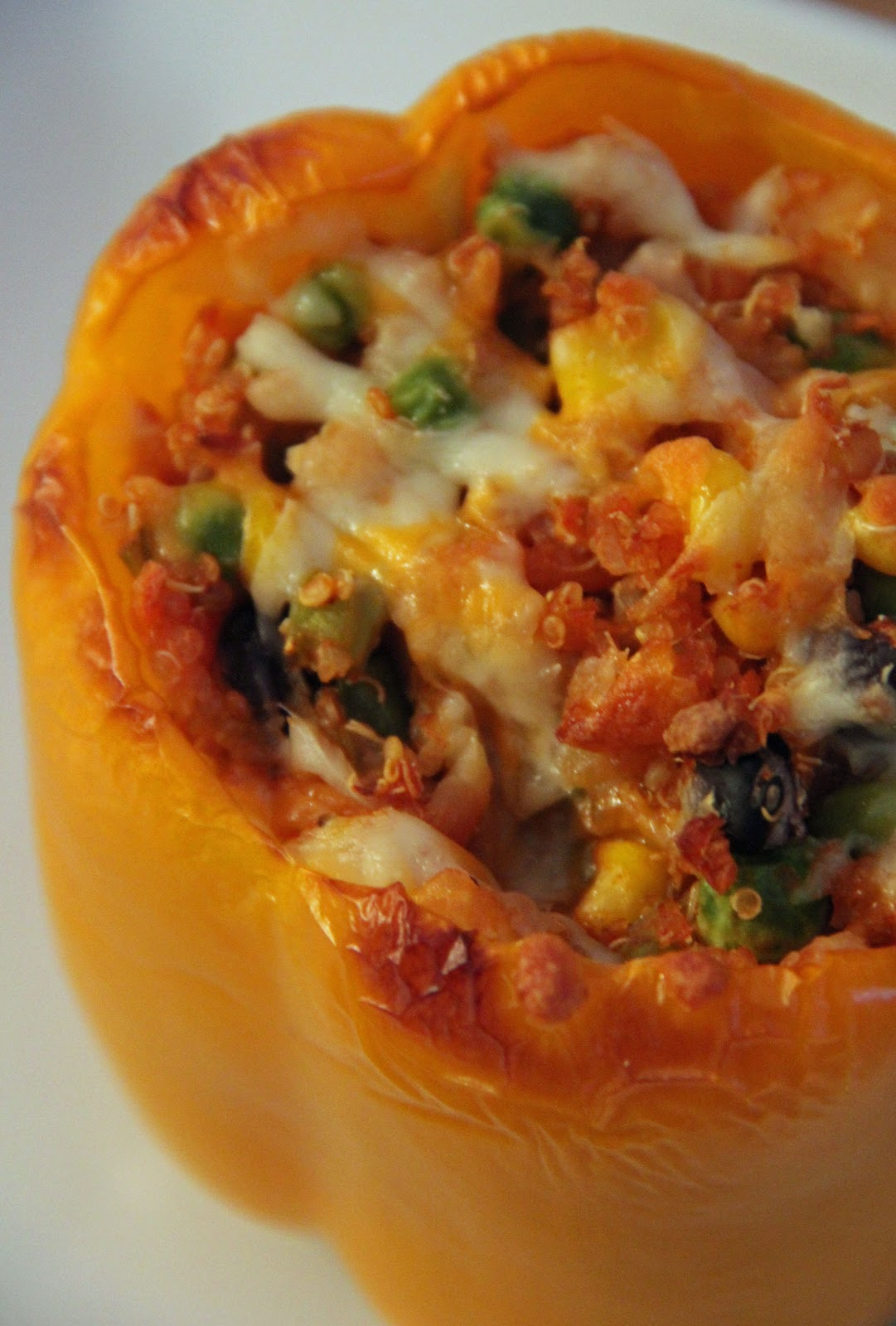 Jo and Sue: Quinoa Stuffed Peppers