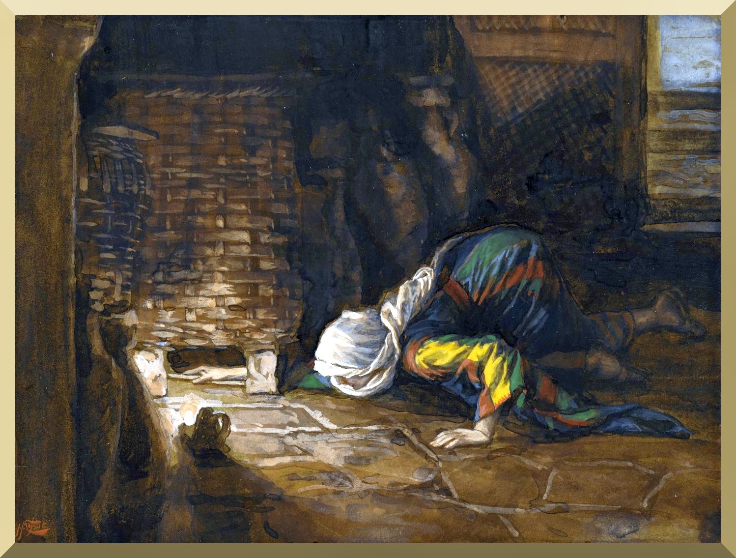 """The Lost Drachma"" -- by James Tissot"