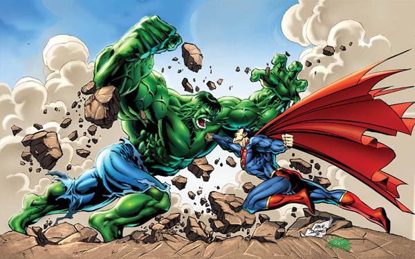 Vídeos incrível animação superman vs hulk