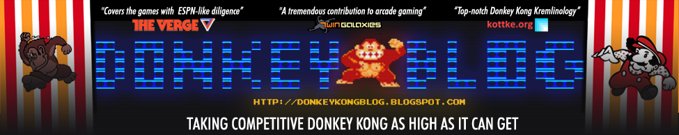 Donkey Blog: News, Theory, and Meditations From The World of Competitive Donkey Kong