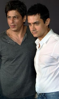 Latest Sexy Stills AMIR KHAN AND SHAHRUKH KHAN TOGETHER PICTURES Showing