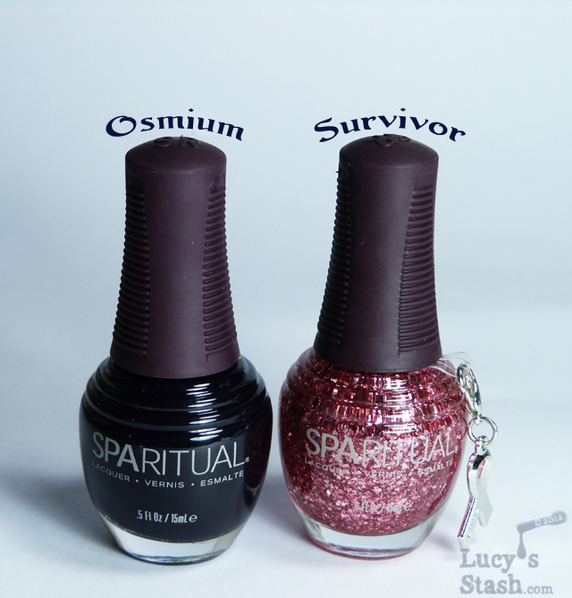 Lucy's Stash - Glitter gradient with SpaRitual Osmium and Survivor
