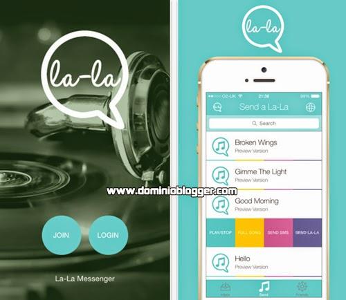 Envia mensajes con sonidos con La – La desde tu iPhone