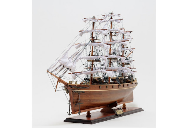 Cutty Sark Wooden Model Ship
