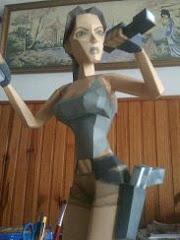 Papercraft Lara Croft IV