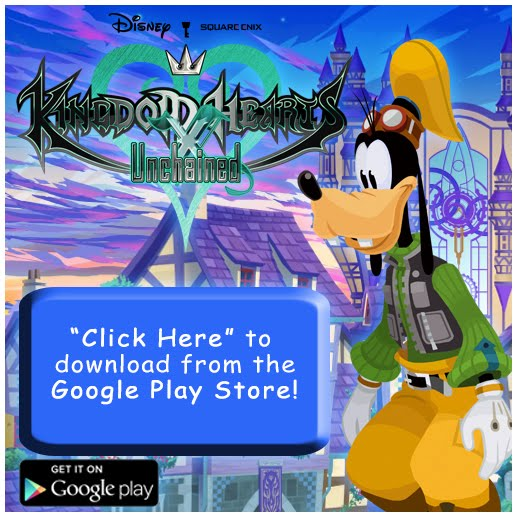 KINGDOM HEARTS Unchained χ (Google Play Store)