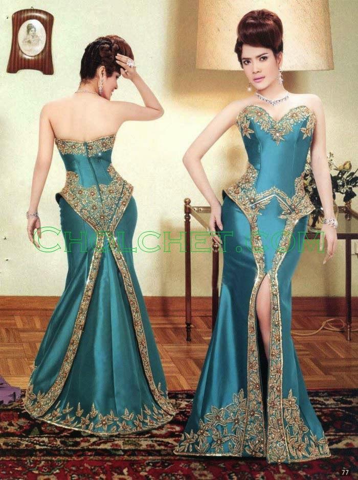 Khmer silk dress traditional modern top 10 dress for Khmer dress for wedding party