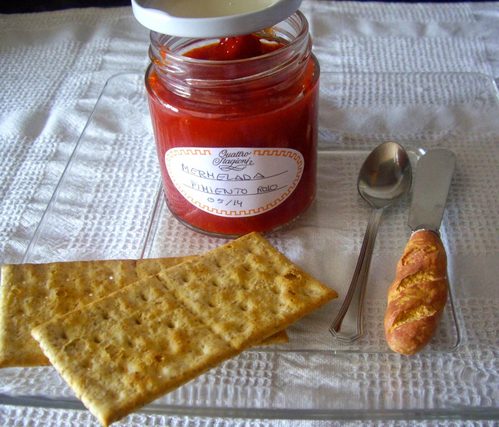 Harinaygasolina mermelada de pimientos - Como hacer mermelada de pimiento ...