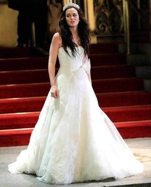 la boda de blair waldorf en gossip girl bodas de cine, famoseo