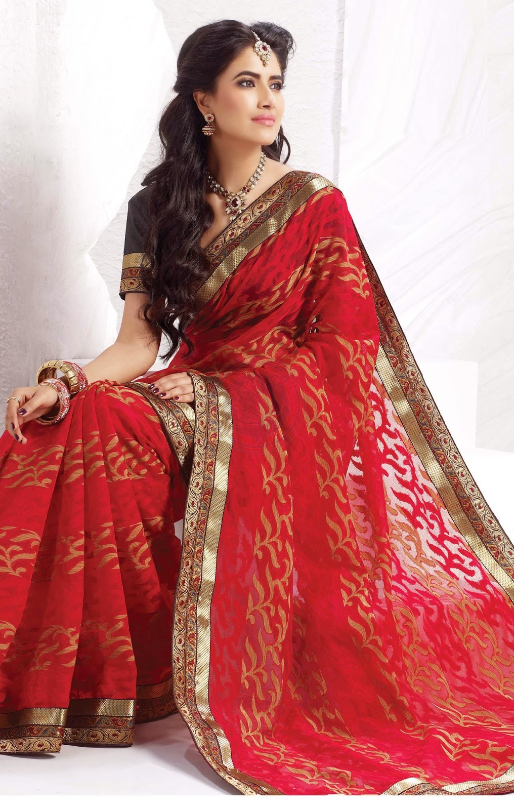 Chennai Silks sari collections