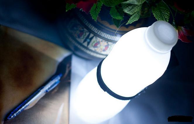 Cara membuat kerajinan tangan lampu tidur hias dari botol plastik ...