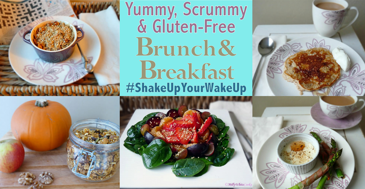 #ShakeUpYourWakeUp with Gluten-Free Deliciousness for Breakfast Week