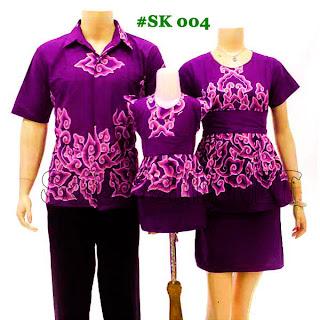 SK004 - Sarimbit Batik Keluarga Pasangan Solo 2013