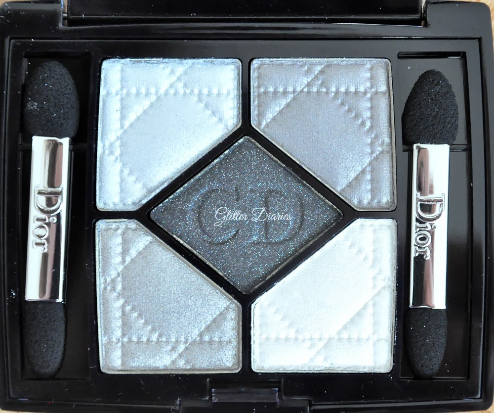 dior 39 gris gris 39 5 color eyeshadow palette review swatches glitter diaries. Black Bedroom Furniture Sets. Home Design Ideas