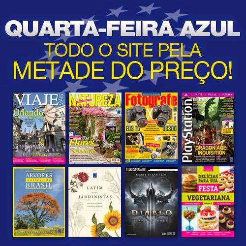 SOMENTE HOJE! TODO O SITE DA EDITORA EUROPA COM 50%DE DESCONTO!