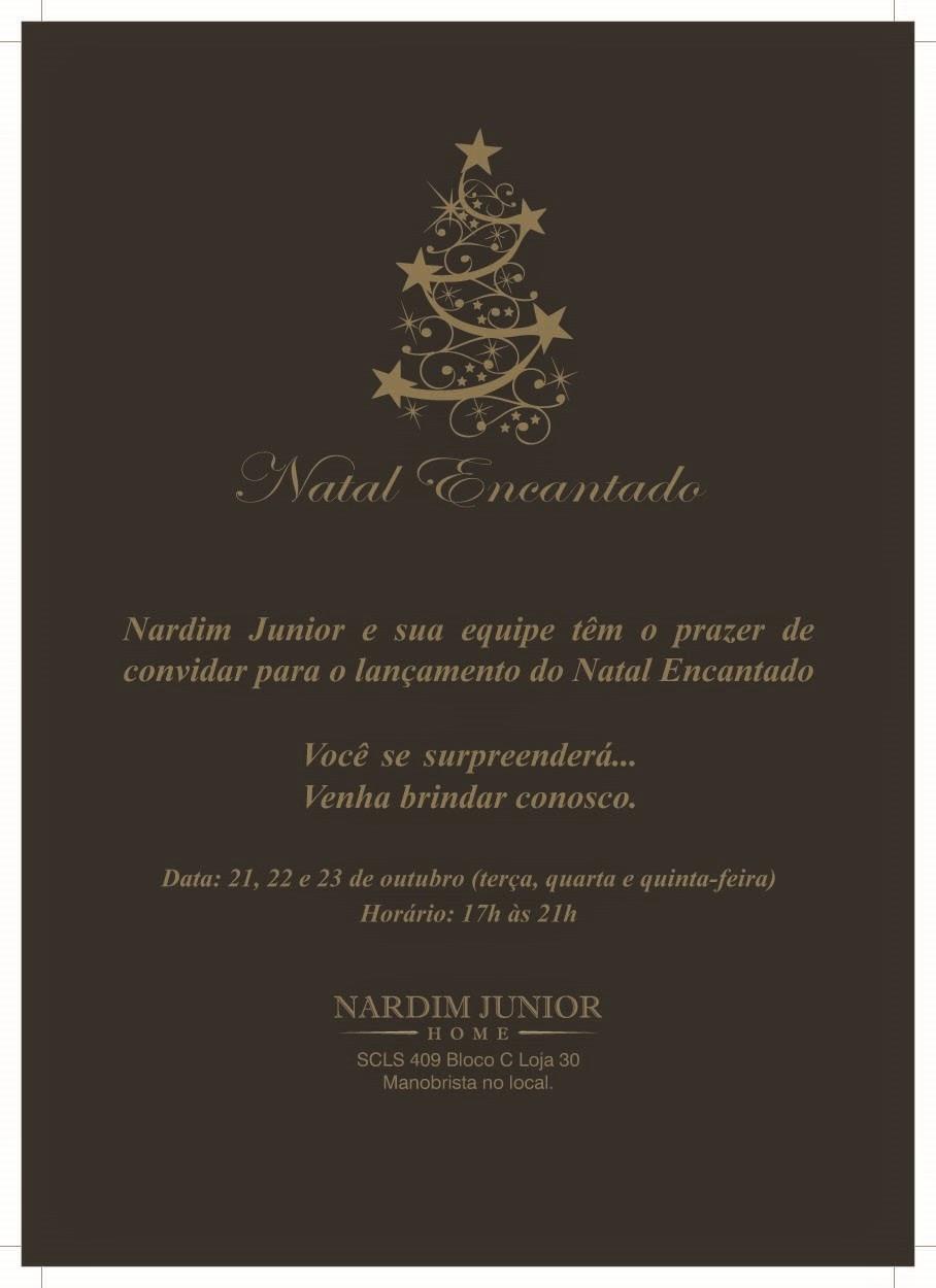 Convite: Natal Encantado em Brasília