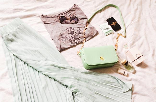 Style Diary Minty Shades