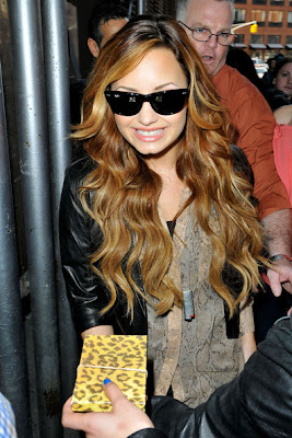 Demi Lovato 2012 Hairstyle