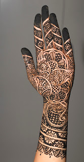 Unique Mehndi Designs 2013