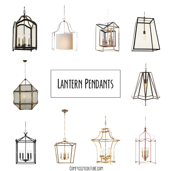Comfy Cozy Couture Lantern Pendant Lighting