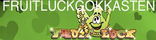 Het logo van de Fruitluck Gokkasten