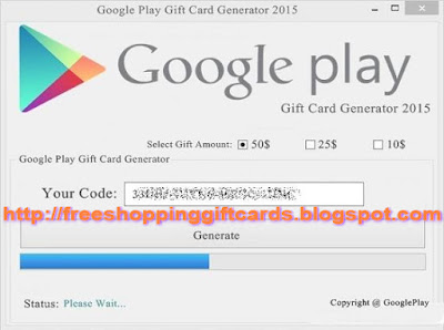 Shopping Gift Cards