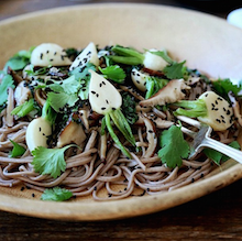 Hakurei Turnip Soba Noodles