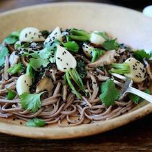 Hakurei Turnip Soba Noodles