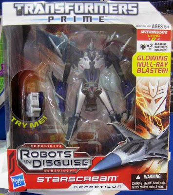 Transformers Prime Starscream Voyager