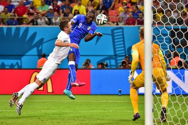 Balotelli Penentu Kemenangan Italia atas Inggris 2-1