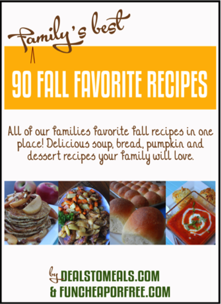 Fall Favorite Recipes E-Book