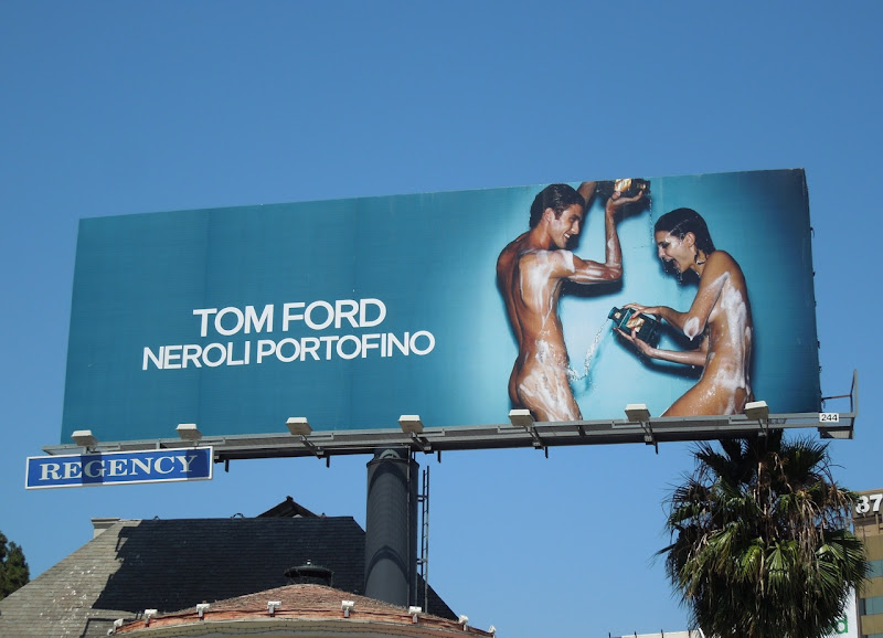 Sexy Tom Ford Neroli Portofino billboard