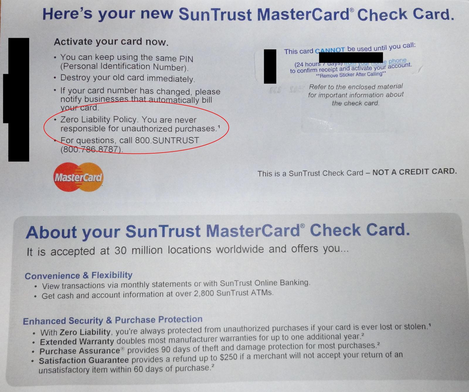 Suntrust business credit card limit gallery card design for Business credit card limits