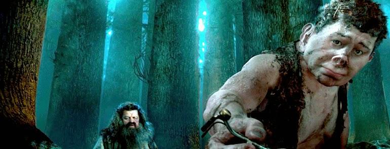 Harry Potter. El Bosque Prohibido.. Grawp.
