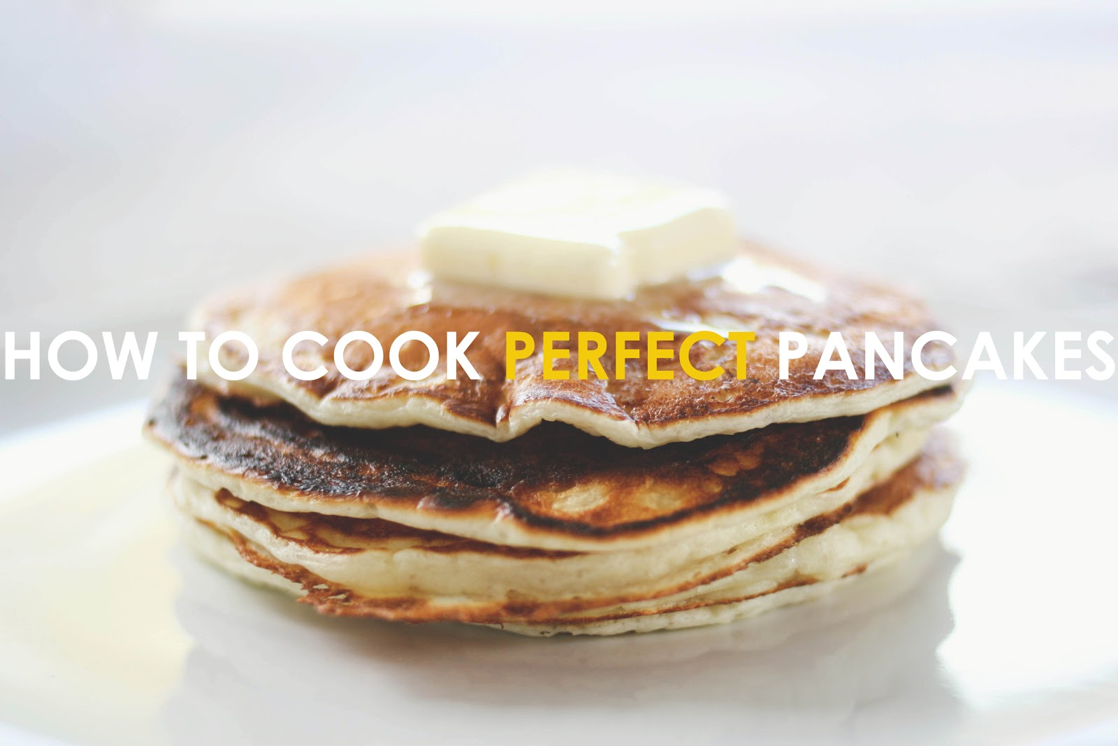 Une-deux senses: How to Cook Perfect Pancakes